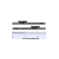 Decal 1/25 Massey Ferguson 1085 Hood Stripe
