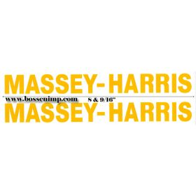 Decal Massey Harris (Pair)