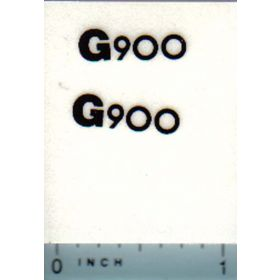 Decal 1/16 Minneapolis Moline G900 Model Numbers
