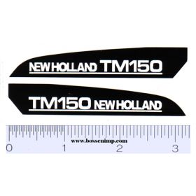 Decal 1/16 New Holland TM150 Hood Panels