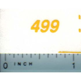 Decal 1/16 New Holland Grinder Mixer 499 Model Numbers