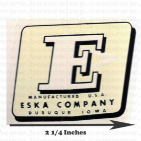 Decal Eska Logo Water Transfer