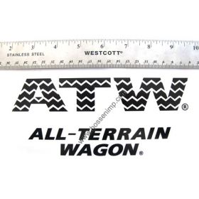 Decal Radio Flyer ATW All-Terrain Wagon
