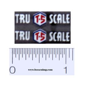 Decal 1/16 Tru Scale Implement Set