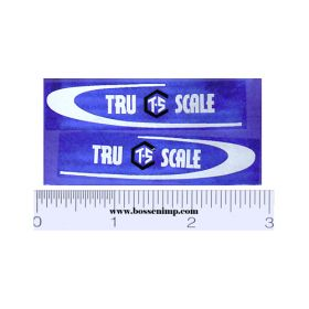 Decal 1/16 Tru Scale Truck Set