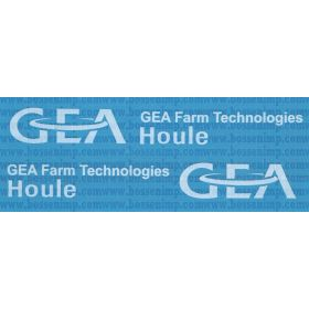 Decal 1/16 GEA Houle white