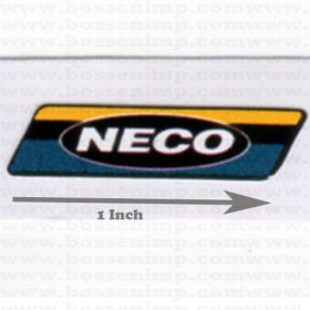 Decal NECO 1 inch