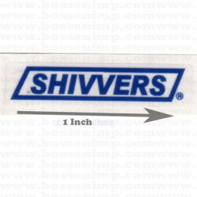 Decal Sivvers 1 inch