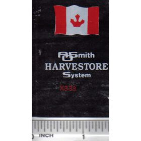 Decal 1/64 AOSmith Harvestore - Canadian