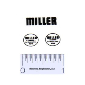 Decal 1/16 Miller Loaders