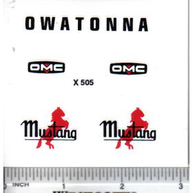 Decal 1/16 Owatonna Skid Loader Set