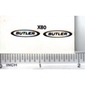 Decal Butler 3/4in.