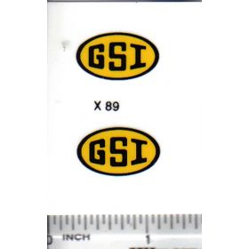 Decal GSI Grain Bin 7/8in.