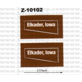 Decal 1/50 Elkader, Iowa