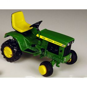 1/16 John Deere 140 Garden Tractor with implements Precision Series #2