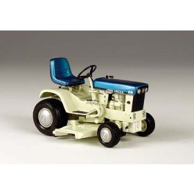 1/16 John Deere 140 Blue Patio garden tractor with mower deck