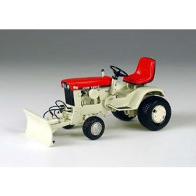 1/16 John Deere 140 Red Patio Tractor with Front Blade Precision Collection