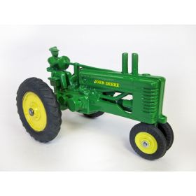 1/16 John Deere A NF Styled on rubber with Driver