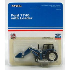 1/64 Ford 7740 with cab & loader