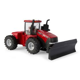 1/32 Case IH Steiger 580 4WD with single wheels & front blade
