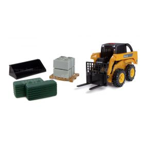 1/16 Big Farm John Deere Skid Loader Playset
