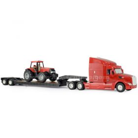 1/32 Peterbilt 579 semi with Case IH Tractor