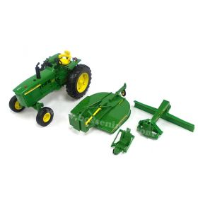 1/16 Big Farm John Deere 4020 WF w/mower & blade