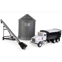 1/32 Big Farm Peterbilt 367 Grain Truck w/Grain Bin & Auger Set