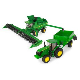 1/32 John Deere Harvesting 7290 Set