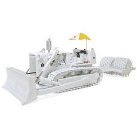 1/25 International TD-25 Crawler with Sheep's Foot Roller White