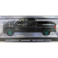 1/64 Chevrolet Pickup Silverado 2018 Midnight Edition (Chase Unit)
