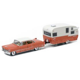 1/64 Cadillac Fleetwood Series 1955 with Shasta trailer