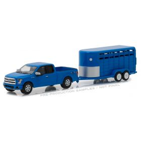1/64 Ford F-150 Pickup 2016 with Livestock Trailer  Series 14