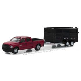 1/64 Dodge Ram 2500 Pickup 2017 with Dump Trailer Series 14
