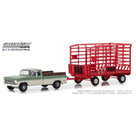 1/64 Ford pickup F-100 1969 with Bale Throw Wagon