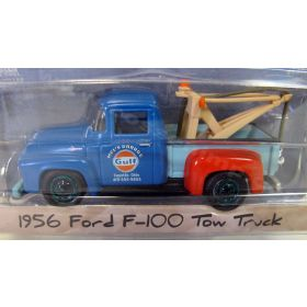 1/64 Ford Tow Truck F-100 1956 Gulf Oil Mel's Garage Series 4 Chase Unit