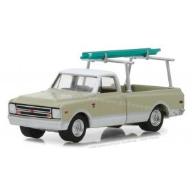 1/64 Chevrolet Pickup C-10 1970 with Ladder & Rack Series 4