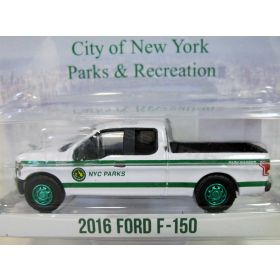 1/64 Ford F-150 Pickup 2016 NY City Dept of Parks Series 4 (Chase Unit)