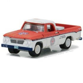 1/64 Dodge Pickup D-100 1963 Red Crown Gasoline 2
