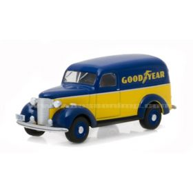 1/64 Chevrolet Panel Van 1939 Goodyear Series 4