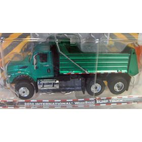 1/64 International WorkStar 2013 Dump Truck Green Chase Unit