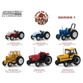 1/64 Down on the Farm Series 1 Set of 6