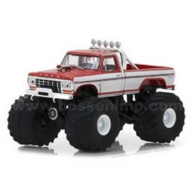 1/64 Ford Pickup F-250 1979 Marron with White Stripes Series 1