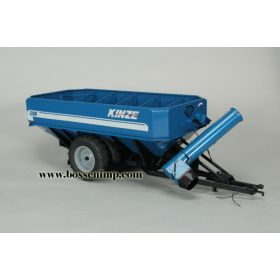 1/16 Kinze Wagon 1300 w/Row Crop Duals