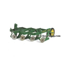 1/16 John Deere Plow 4 bottom Mounted single coulters