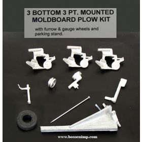 1/64 Plow 3 Bottom 3 Point Mounted Kit