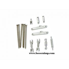 1/64 3 Point Hitch Kit Movable large wo/Drill bit