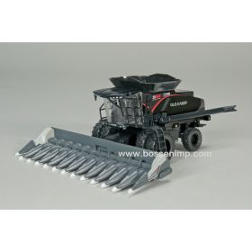 1/64 AGCO Gleaner Combine S98 with duals and corn head Black Stealth