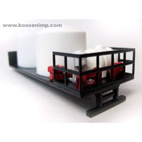 1/64 Truck Mount Sprayer Tender Flatbed