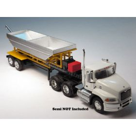 1/64 Semi Trailer Fertilizer Tender Trailer Rear Discharge